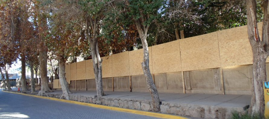 Comienzan obras de remodelación en plaza de Pisco Elqui