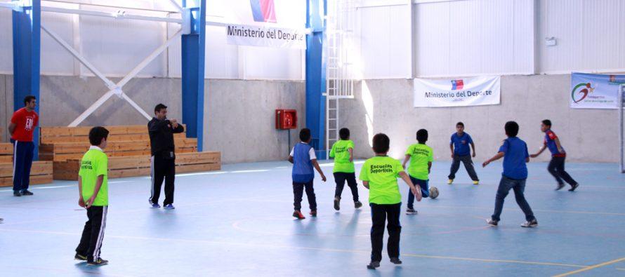 Escuelas Deportivas Integrales ya son una realidad en el Valle del Elqui