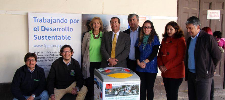Estudian factibilidad de construir Parques de Reciclaje en seminario realizado en Vicuña