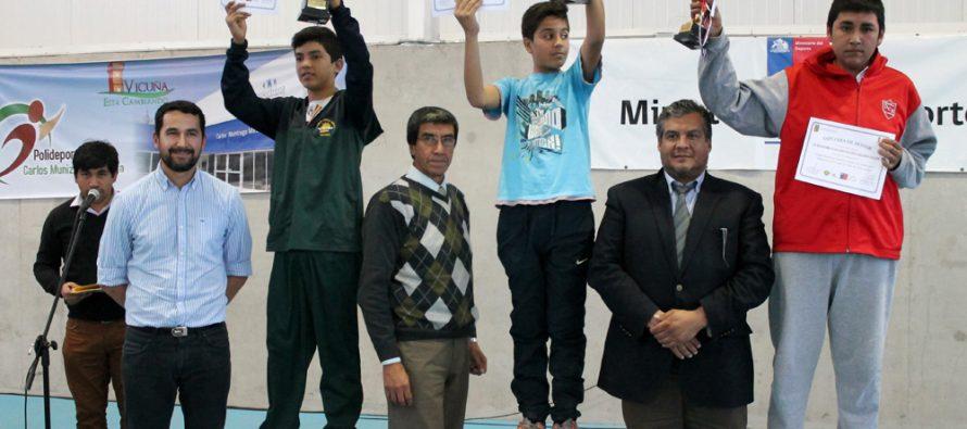 Vicuña ya tiene a sus campeones de los Juegos Deportivos Escolares