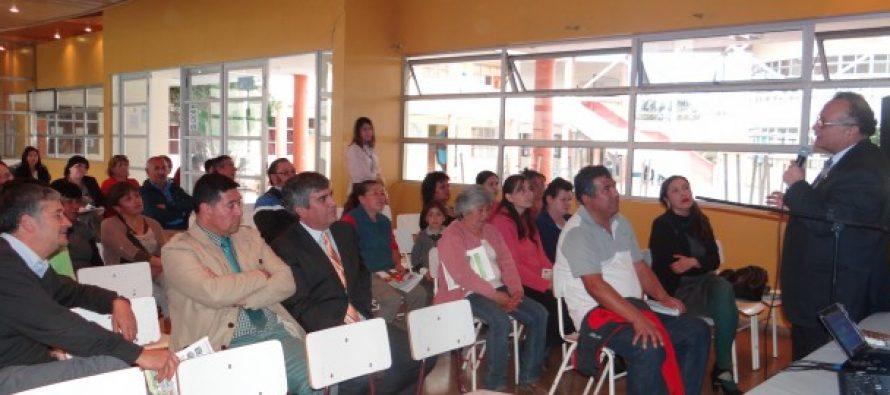 Mesa Comunal de Prevención sesiona por primera vez en el presente año