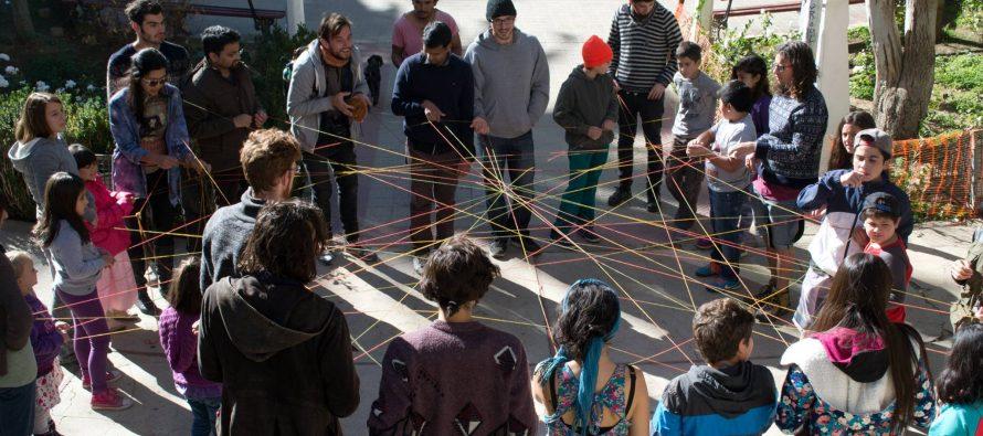 Grupo de extranjeros comparte experiencias con grupo Tierra y Valle de Pisco Elqui