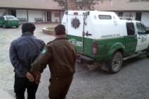 """Carabineros de Vicuña detienen a """"El Trigo"""" en Calingasta"""