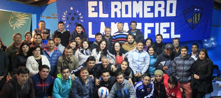 Club Deportivo El Romero celebró su aniversario 72 junto a socios, simpatizantes y jugadores