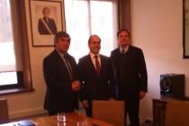 Diputado Walker y alcalde de Vicuña comprometen a Ministro de Obras Públicas con doble vía en el Elqui