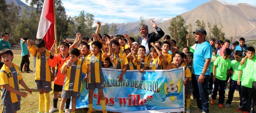 Más de 500 niños compitieron en el 3er Campeonato Haciendo Amigos en el Valle de Elqui