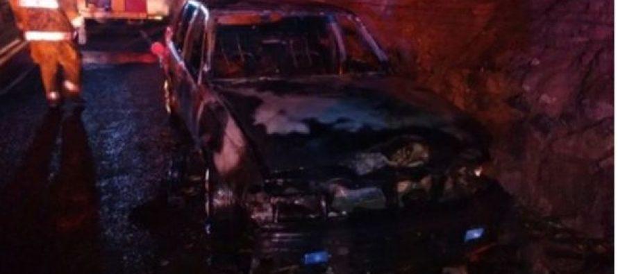 Por celos sujeto agrade a un individuo y le quema el auto en Vicuña