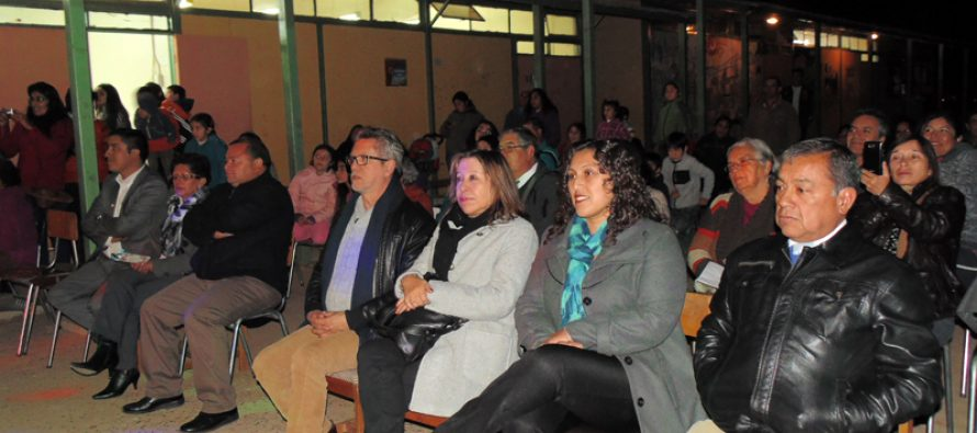 Comunidad de la localidad de Horcón despidió edificio de escuela Mario Aquiles Rodríguez