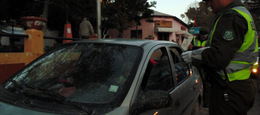 Carabineros realizó más de 120 controles durante el fin de semana en Paihuano