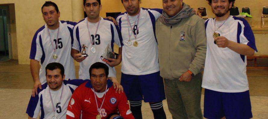 Jóvenes de Paihuano participan en campeonato comunal de baby fútbol  en Pisco Elqui