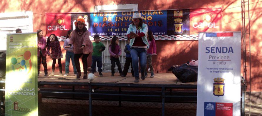 Feria de Invierno: Niños de Diaguitas disfrutan de una tarde recreativa