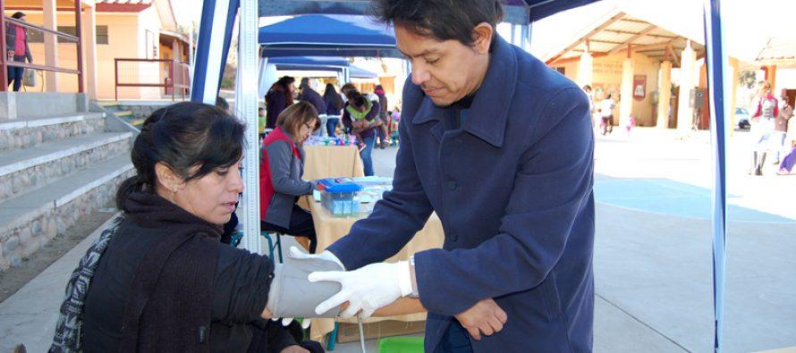 Realizan Ferias Saludables en localidades rurales de La Serena