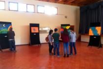 Obras de artista visual regional deleitó al público elquino en Montegrande