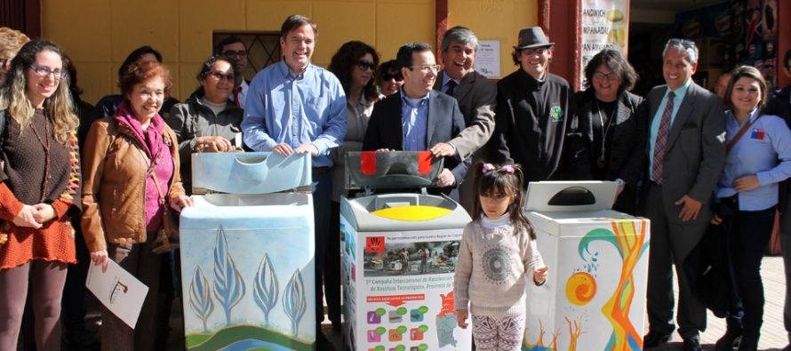 En agosto comienza campaña de reciclaje de botellas plásticas y basura tecnológica en Vicuña