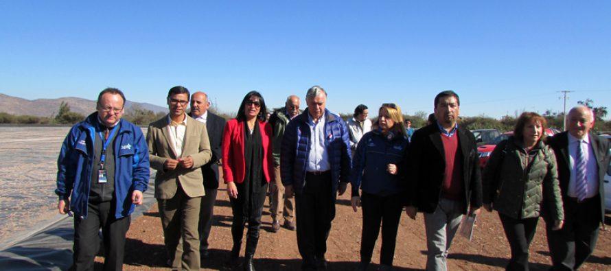 Minagri entrega bonos de riego para productores de Vicuña, Paihuano y La Serena afectados por la sequía