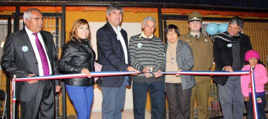 Sede comunitaria de la villa Los Jardines se hace realidad después de 34 años en Vicuña
