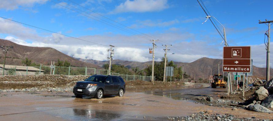 Corte de suministro eléctrico fue la situación más compleja en el frente climático en Vicuña