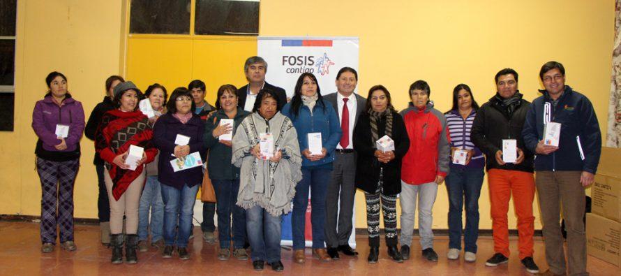 50 millones de pesos se invertirán en Rivadavia mediante programa Más Territorio de Fosis