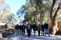 Consejeros Regionales  del Elqui evaluaron los avances de la Plaza de Armas de Vicuña