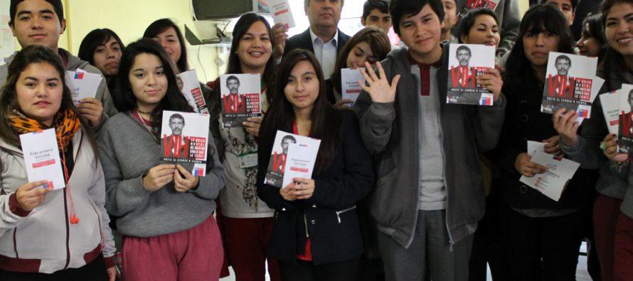 """Realizan campaña """"Sexualidad responsable"""" con jóvenes de Vicuña"""