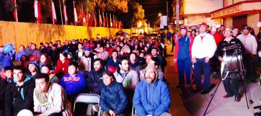 Invitan a ver la final de Copa América con pantalla gigante en el centro de Vicuña