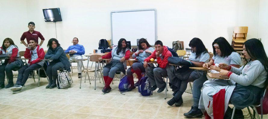 Estudiantes de Paihuano reciben apoyo para desarrollar habilidades socioemocionales