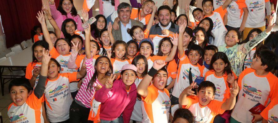 Niños Coquimbo disfrutan de las Colonias Escolares de Invierno en Vicuña