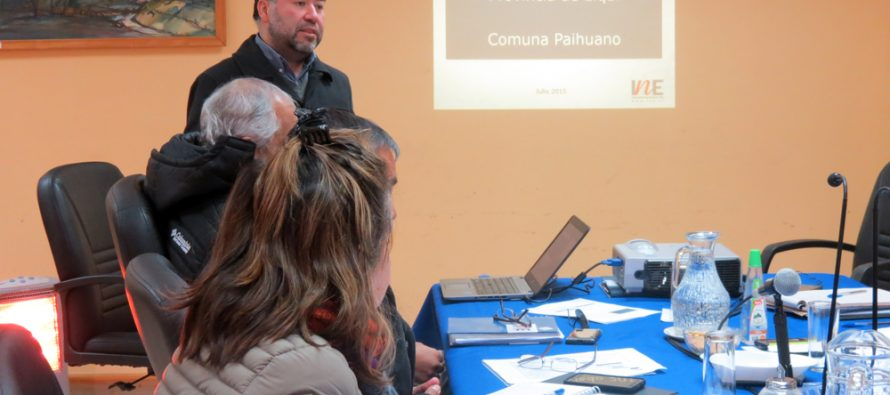 INE Coquimbo expone sobre censo ante concejo municipal de Paihuano