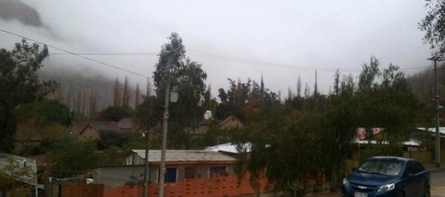 Paihuano no tuvo mayores problemas con el frente climático