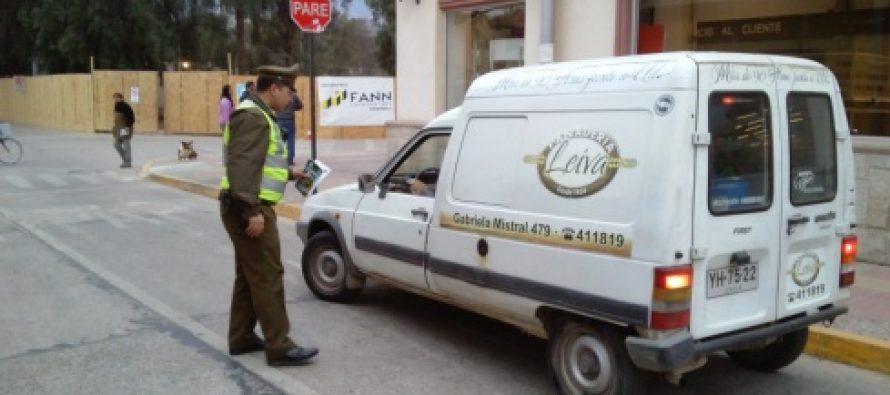 Carabineros realiza fuerte campaña para prevenir el robo en Vicuña