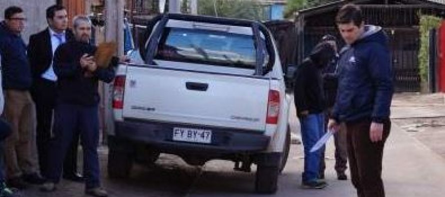 Realizan reconstitución de escena por homicidio ocurrido en sector Aguas de Elqui