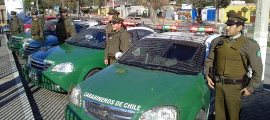 Carabineros crea  patrulla de búsqueda para combatir el robo de vehículos