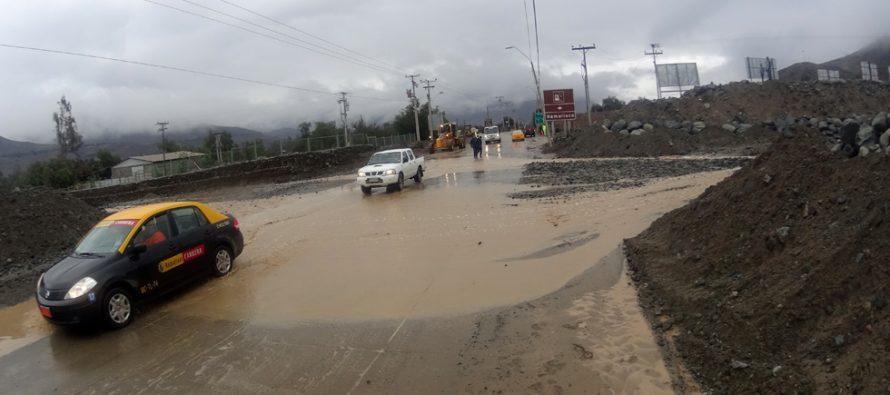 Fortalecen las quebradas de Vicuña ante las  precipitaciones que afectan a la zona