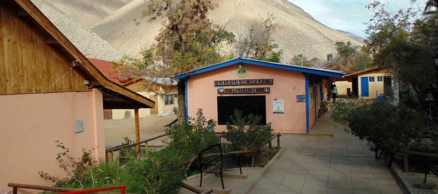 Escuela de Pisco Elqui inicia celebración de nuevo aniversario