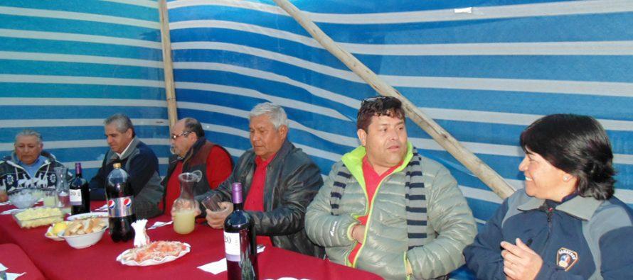Compañía de bomberos de Pisco Elqui celebró su octavo aniversario