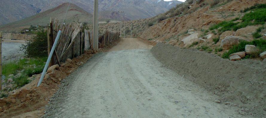 Pavimentarán camino que une la población Monte Gabriela con Montegrande