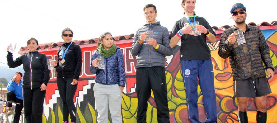 Running Valle del Elqui 2015 incluyó circuitos en Cochiguaz, Pisco Elqui y Diaguitas sumando 42K