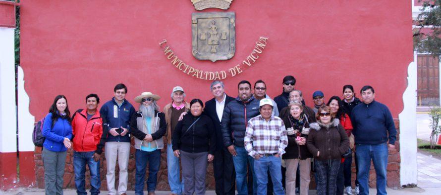 Ganaderos de Tarapacá conocen realidad de los crianceros de la zona y comparten experiencias
