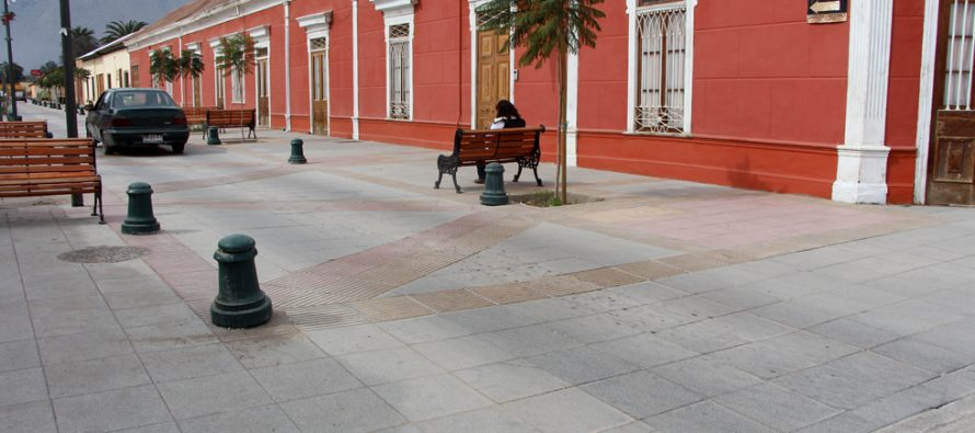 Serviu y municipio de Vicuña realizan gestiones para arreglar deterioro en el Eje Mistraliano