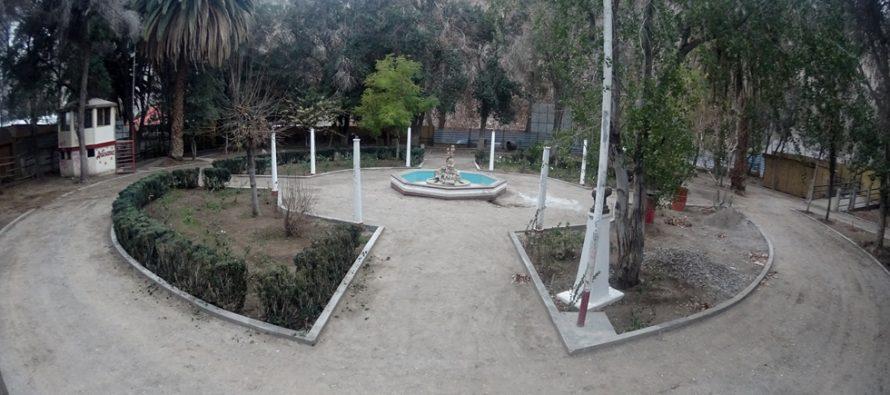 Remodelación plaza de Pisco Elqui