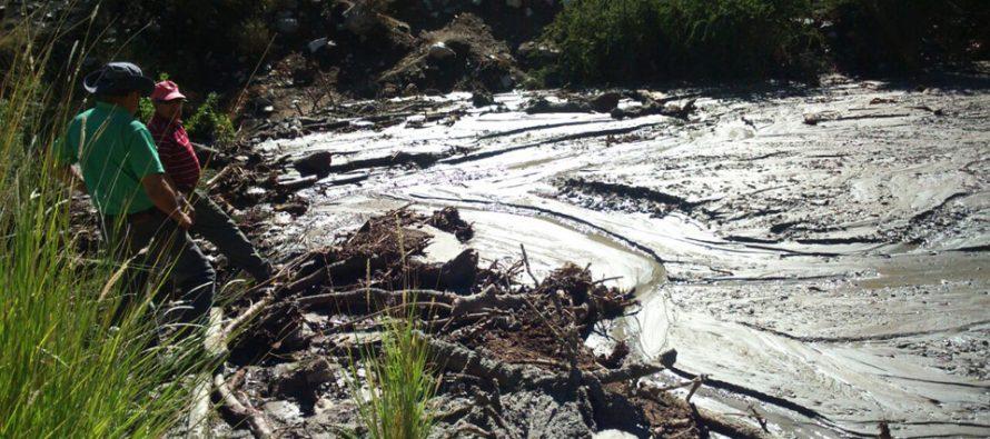 Municipalidad de Paihuano llama a prepararse ante nuevas precipitaciones