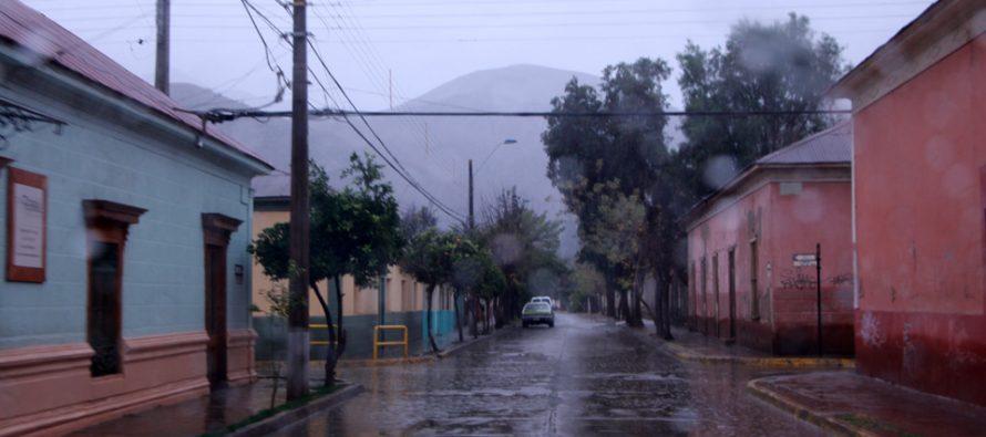 Precipitaciones en el Valle del Elqui se concentrarían en la jornada de este sábado