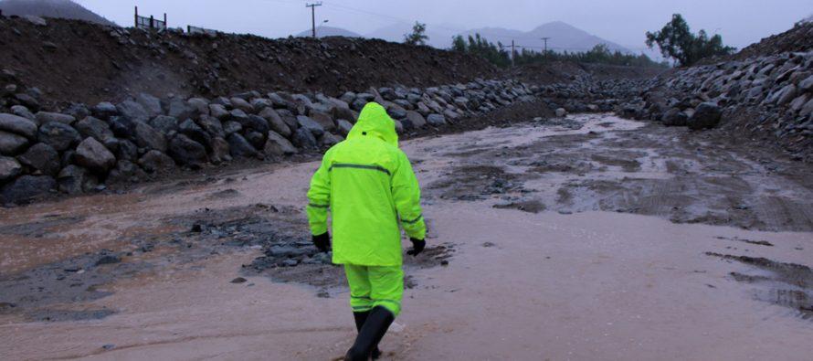 MOP destaca plan de contingencia ante eventuales precipitaciones