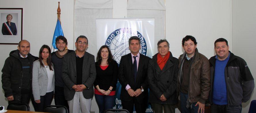 Comprometen trabajo para abordar inquietudes y necesidades del Colegio de Periodistas