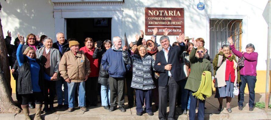 15 Agrupaciones de adultos mayores en Vicuña recibirán dinero para concretar sus proyectos