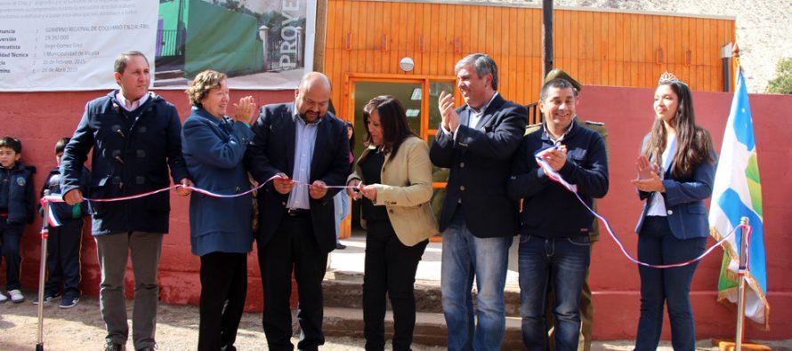 Chapilca y Huanta cuentan con infraestructura nueva para mejor atención de sus vecinos