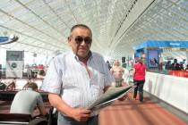 Juan Carlos Robles deleitó al público en la Expo Milán 2015 representando al Valle del Elqui