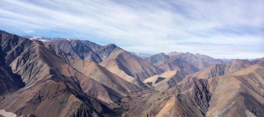 Límite de las comunas de Vicuña y Paihuano