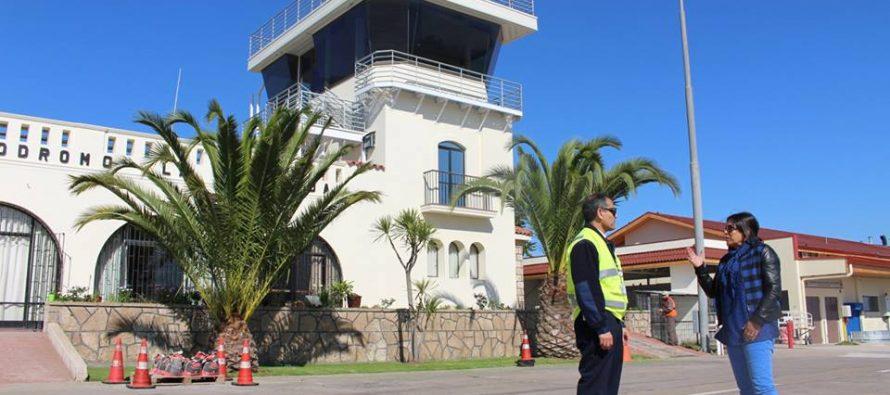 Aeródromo La Florida opera con nueva y moderna torre de control