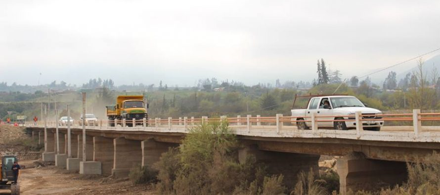 MOP reapertura puente de Altovalsol e inicia obras de nuevo viaducto